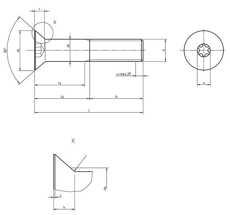 iso 10642 hexagon socket countersunk head cap screws. Black Bedroom Furniture Sets. Home Design Ideas