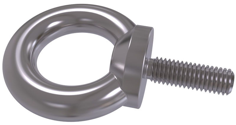 DIN 580 - Lifting Eye Bolts (Collar eyebolts for lifting purposes)