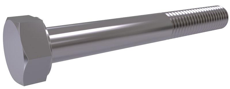 ISO 4014 - Hexagon head bolts with shank