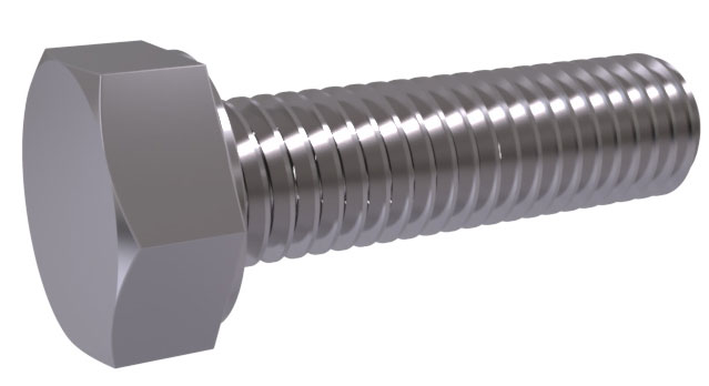 ISO 8676 - Hex Cap Screws, Metric Fine Thread - Full Thread