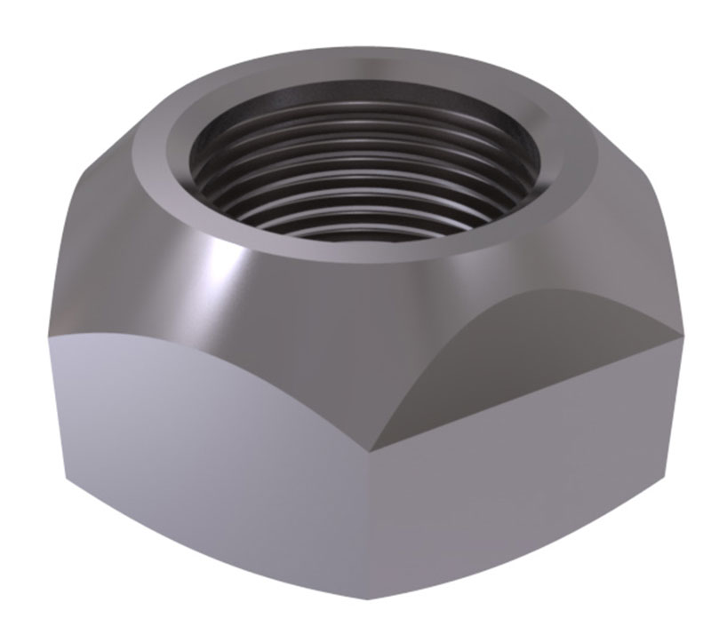 ISO 7042 - Hexagon nuts with clamping part, all metal nut