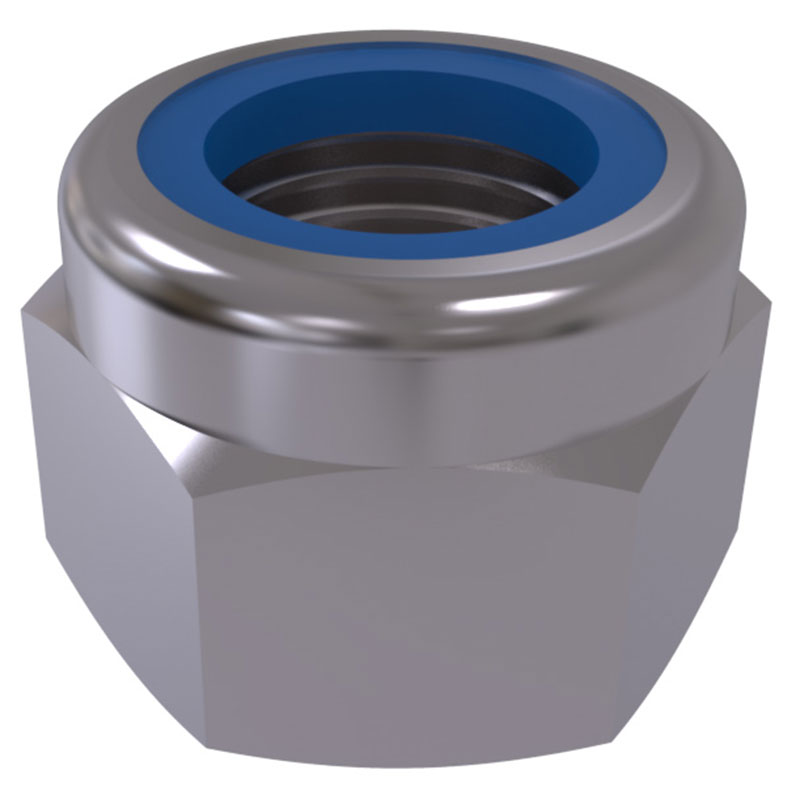 DIN 982 - Prevailing torque nuts with nonmetalic insert