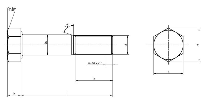 Din 7999 sechskant pa schrauben gro e schl sselweite - Monsieur bricolage montereau ...
